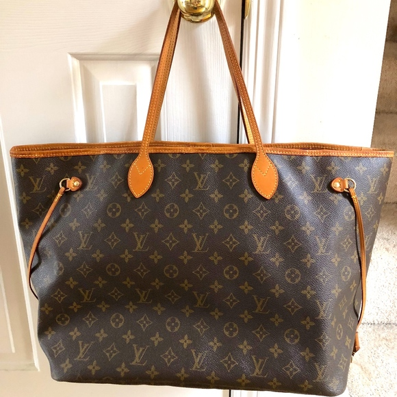 Louis Vuitton Handbags - Louis Vuitton Neverfull GM Monogram Women Tote ac3c4dd442